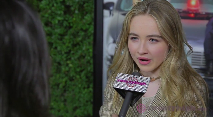 Sabrina carpenter reveals that she once found her cell phone
