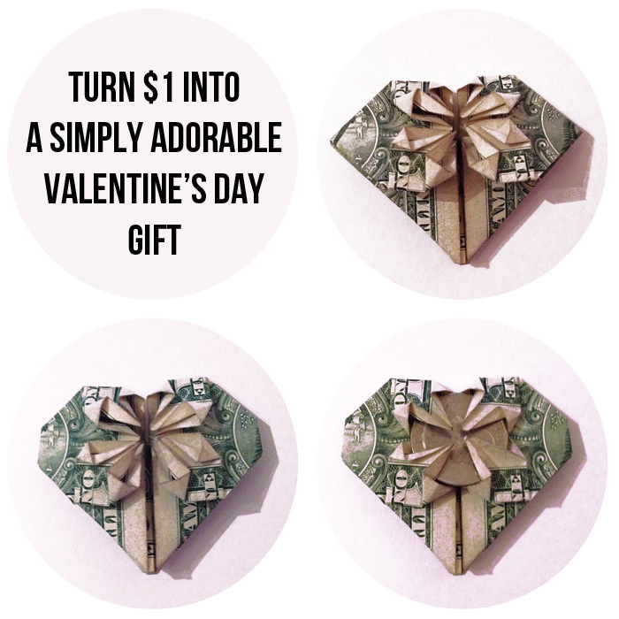 The Perfect Valentines Gift Takes Just One Dollar Bill