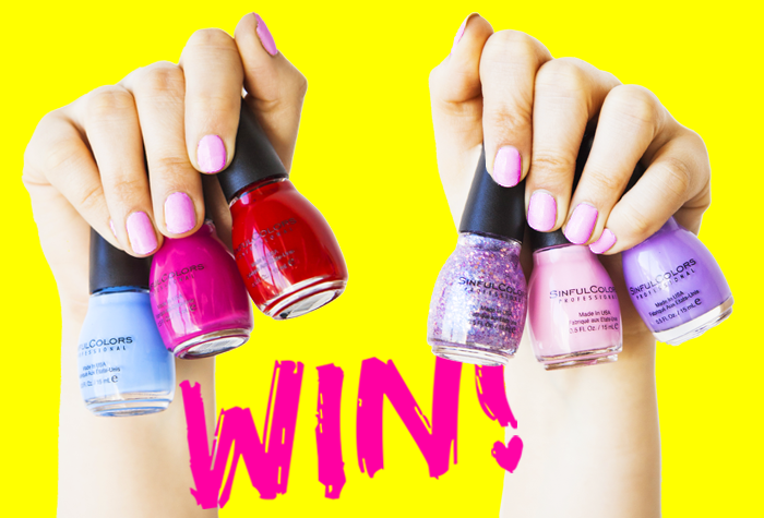 FLASH GIVEAWAY: Win The Perfect Nail Polish Colors For Valentine\'s Day!?