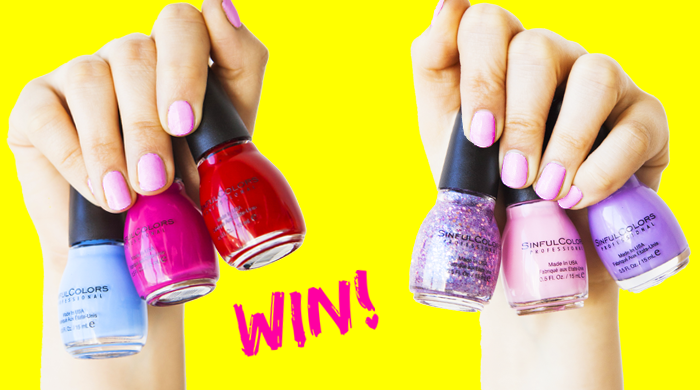 SinfulColors Nail Polish Collection Giveaway