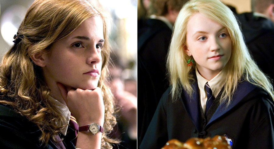 Your role model based on your fave harry potter character - Luna lovegood and hermione granger ...