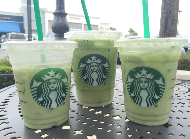 Starbucks Matcha Pink Drink review picture