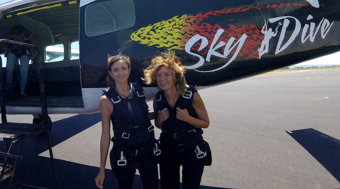 I Went Skydiving—With My Mom!—And It Was Terrifying