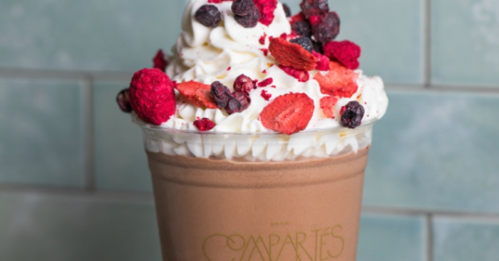 We Tried Compartés' Decadent Frozen Hot Chocolate