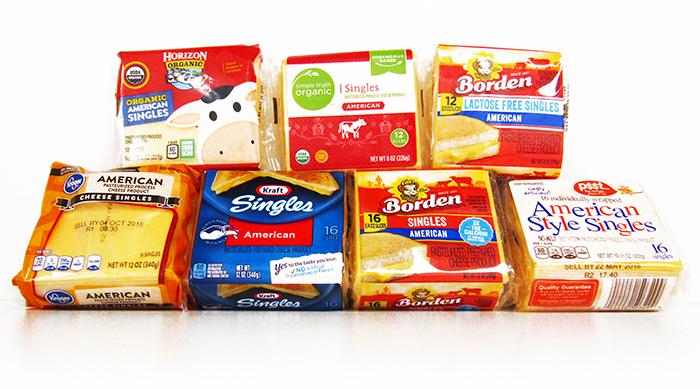 A Definite Ranking of American Cheese Singles