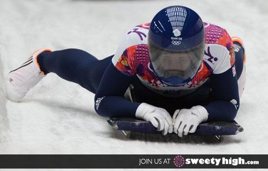 Elizabeth Yarnold Skeleton Olympics