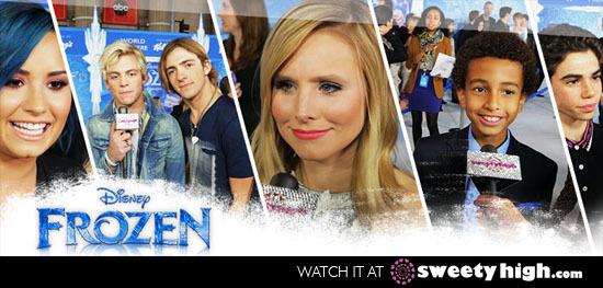 Frozen Premiere