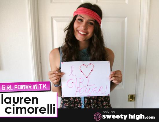 lauren cimorelli girl power guest blog