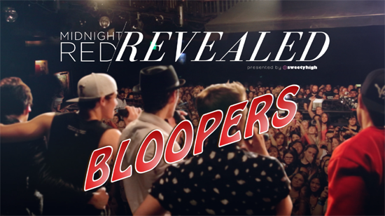 Midnight Red Revealed Bloopers