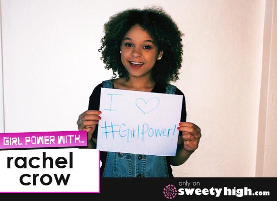 Rachel Crow Girl Power