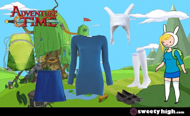 Fionna The Human S Adventure Time Halloween Costume Tutorial