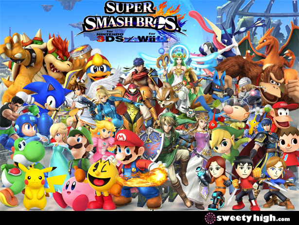 super smash bros for nintendo 3ds review