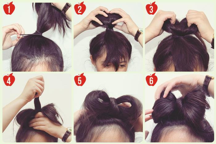Enjoyable 6 Simple Steps To The Perfect Hair Bow Bun Short Hairstyles Gunalazisus
