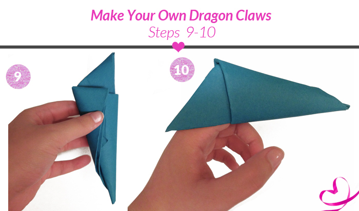 Paper Dragon Claw Tutorial Enter The Dragon