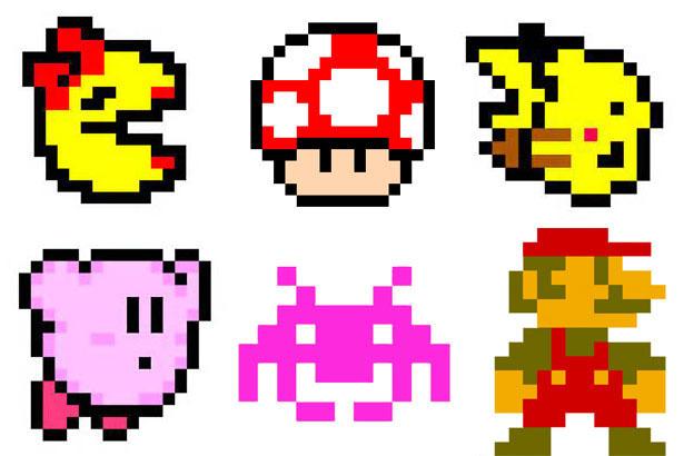 video game perler bead orn copy