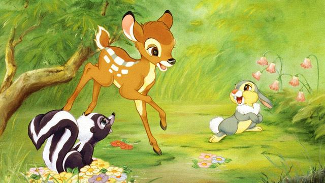 bambi thumper and flower disney bff