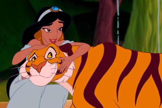 jasmine and rajah disney bff aladdin