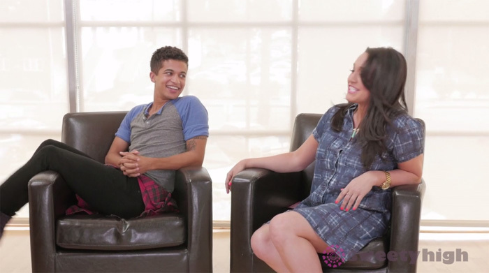 Jordan Fisher Talks Teen Beach 2, Liv and Maddie and Chairs
