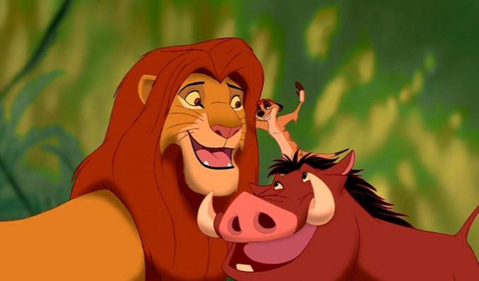 lion king pumbaa timon simba disney bff