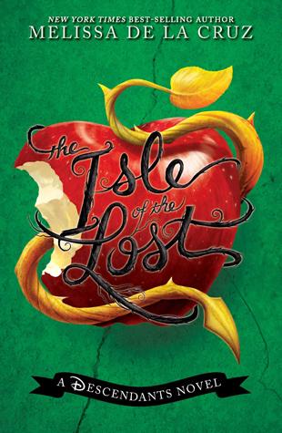 book cover for melissa de la cruzs descendants prequel isle of the lost