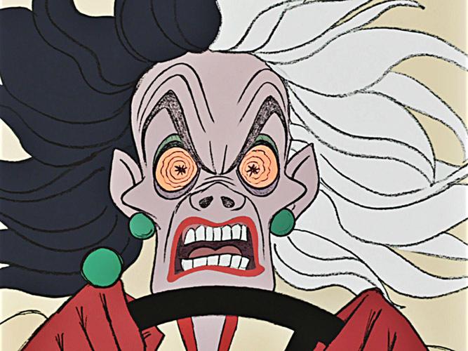 cruella de vil 101 dalmatians evilest female villains