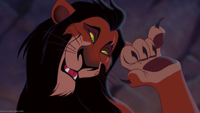 scar the lion king disney villain lessons