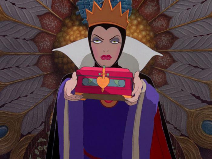 snow white evil queen disney villain lessons