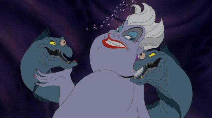 ursula little mermaid disney villain lessons
