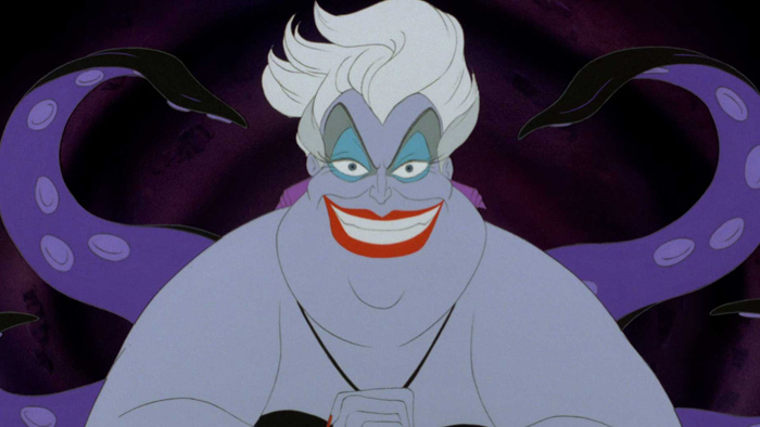 ursula the sea witch evilest female villains