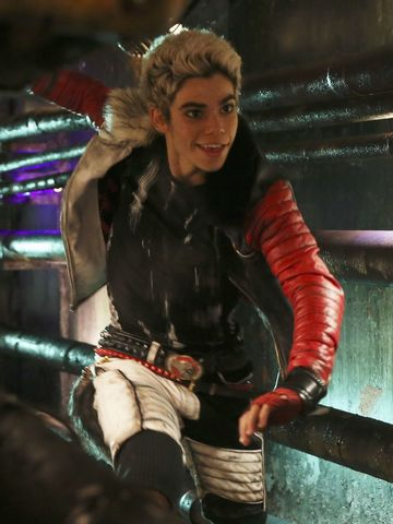 Cameron Boyce as his character Carlos from Disney's Descendants in action