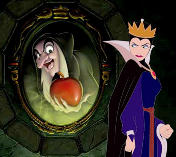 evil queen snow white black magic disney theme song