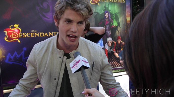 jedidiah goodacre would love to see descendants 2 chad goes bad