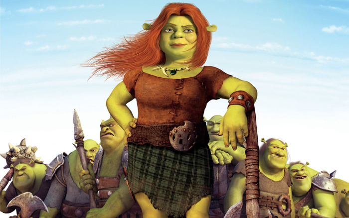 princess fiona shrek disney