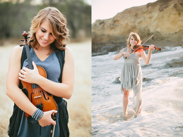 taylor davis playing violin sweety high interview