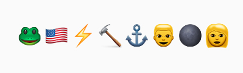 the avengers summer movie emojis
