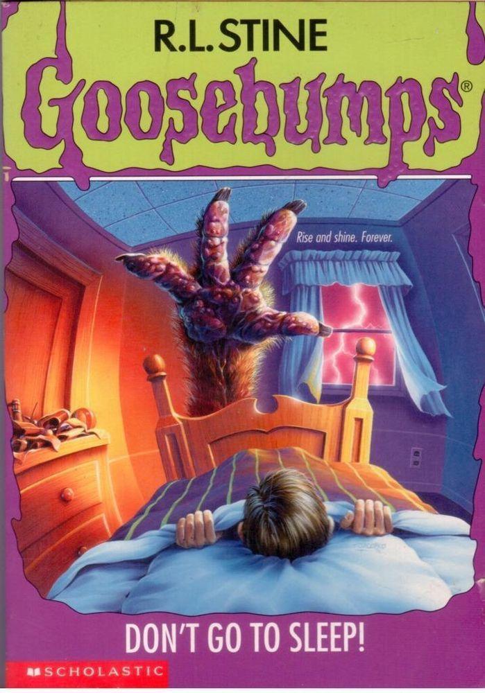 Goosebumps книги скачать