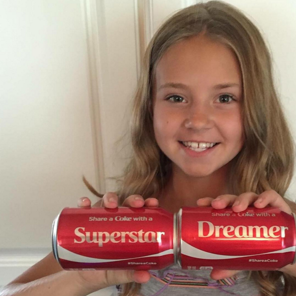 tegan share a coke with a superstar dreamer