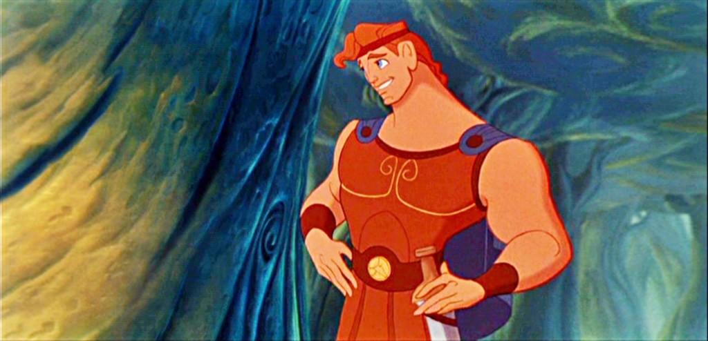 Hercules from the Disney cartoon Hercules