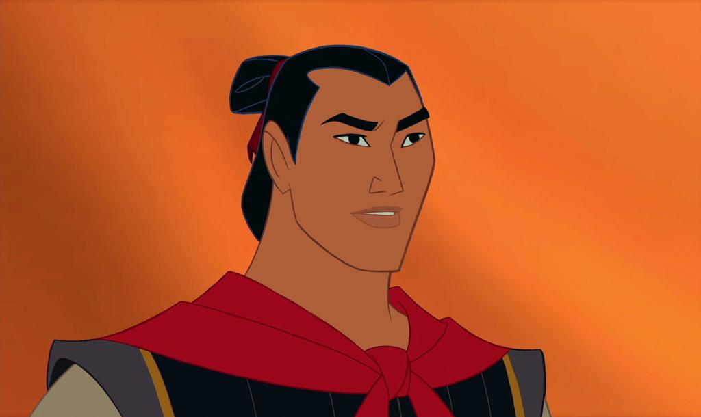 Li Shang from Disney's Mulan