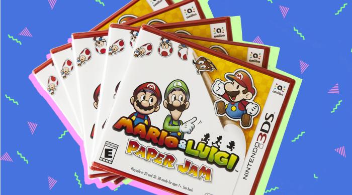 Mario & Luigi Paper Jam Game