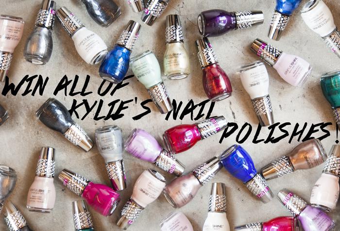 Kylie Jenner nail polish