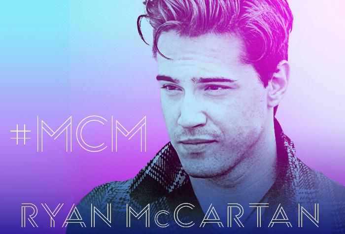 Ryan McCartan Man Crush Monday Artwork