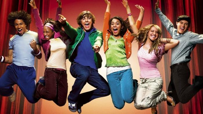 High School Musical DCOM with Vanessa Hudgens and Zac Efron