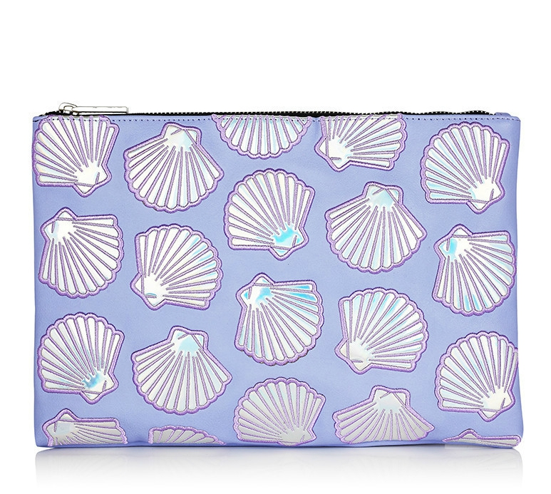 Lilac Shell Pouch