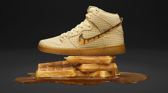 Nike shoes that look like waffles