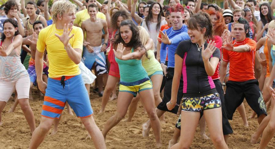 Teen Beach Movie cast dancing