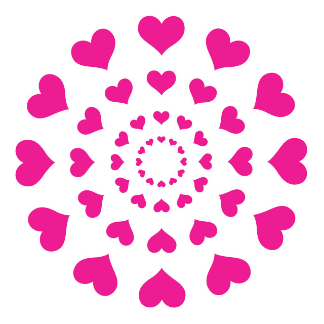Sweety High heart burst logo