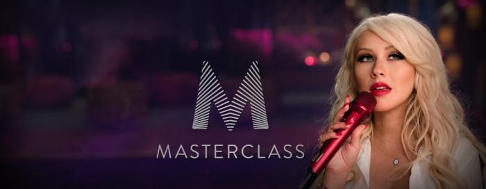 Christina Aguilera MasterClass Homepage