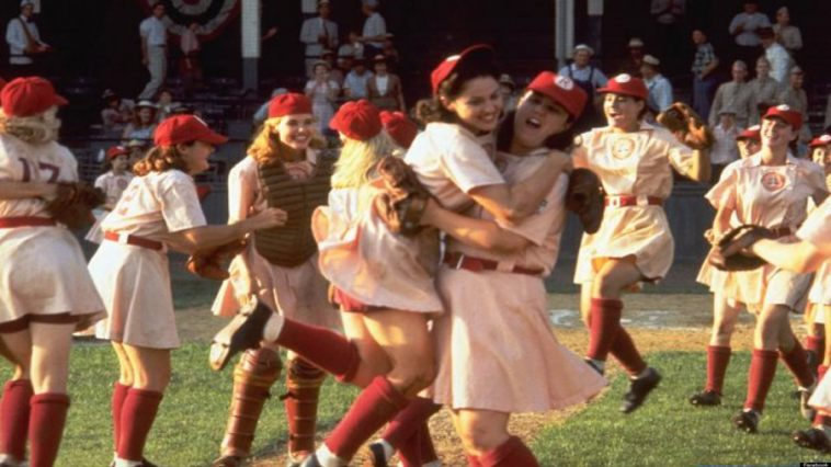 A League of Their Own movie screen shot