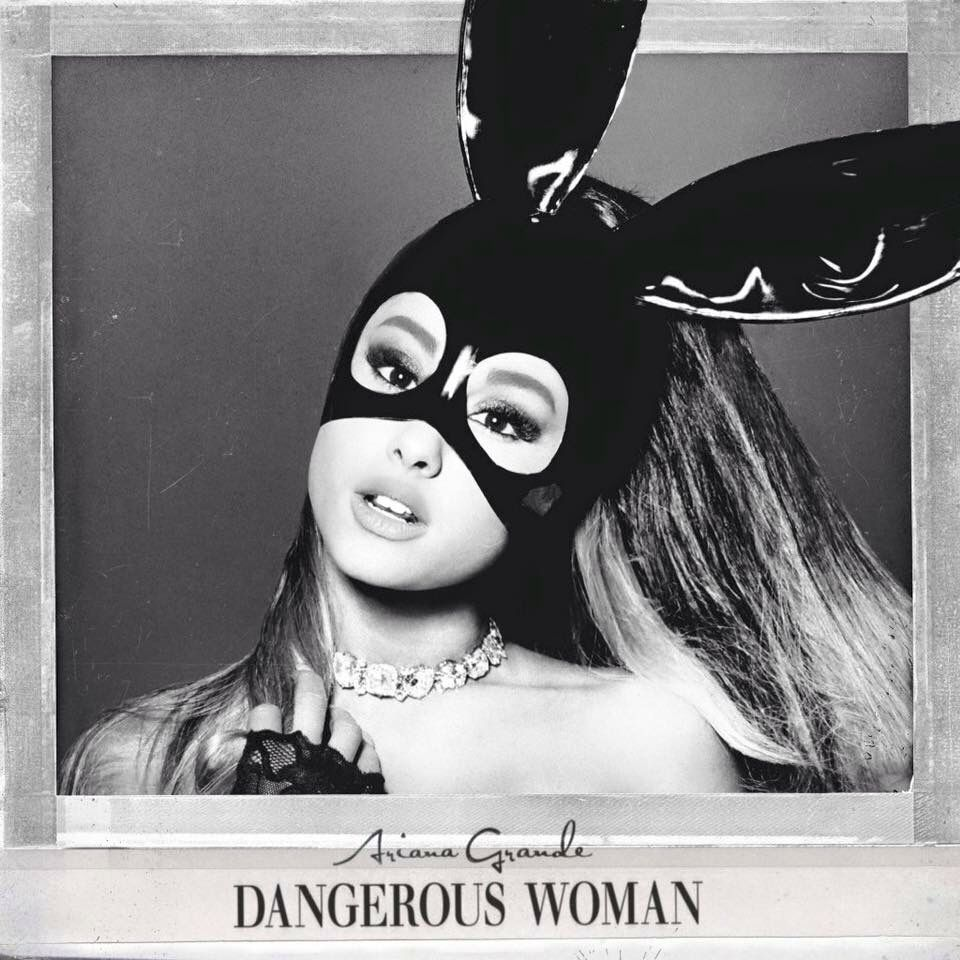 Ariana Grande's 'Dangerous Woman' album art